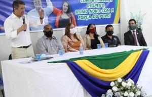 CONVENÇÃO COMERCINHO Vanderlan Gusmão
